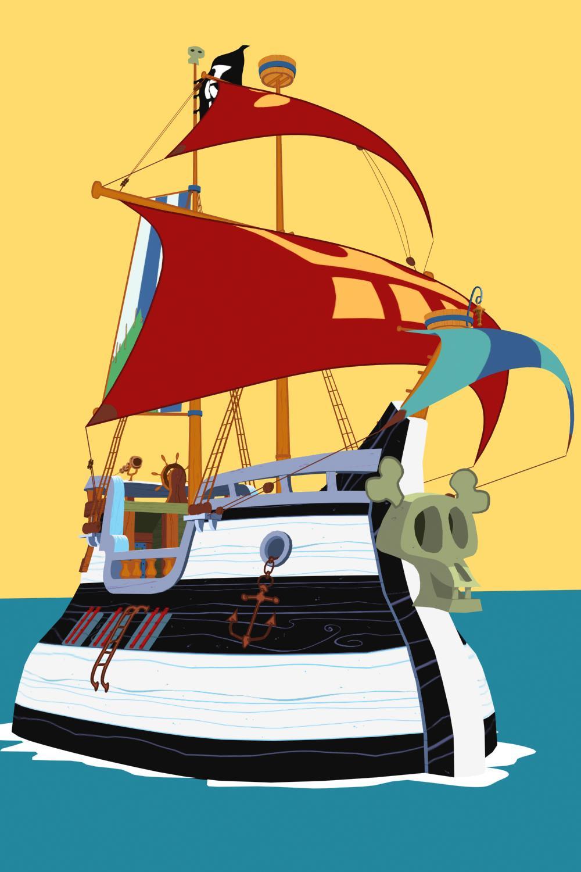 Famille pirate christophe bourges - Dessin anime de la famille pirate ...